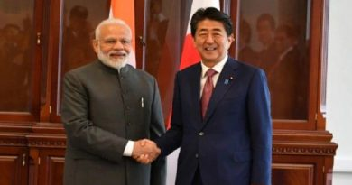 पंतप्रधान नरेंद्र मोदी आणि जपानचे पंतप्रधान यांच्यात दूरध्वनीद्वारे चर्चा