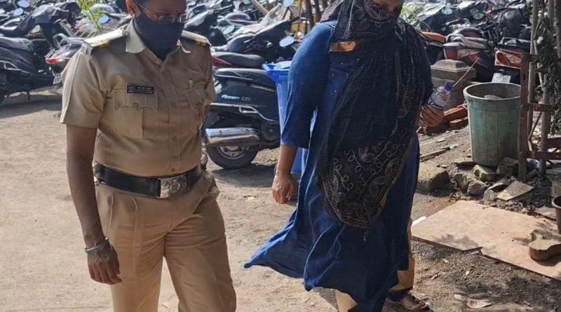 खंडणी प्रकरणी महिला पत्रकाराला अटक